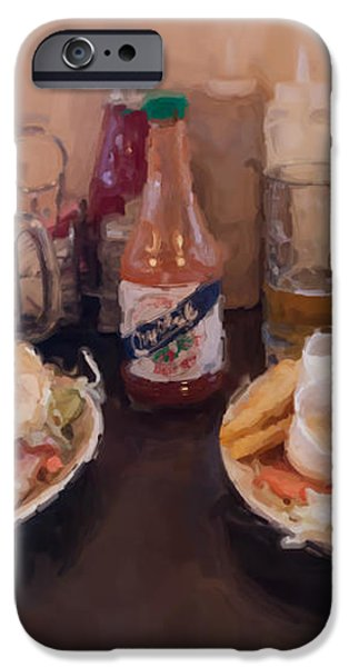Muffaletta and Po-Boy iPhone Case by Kay Pickens