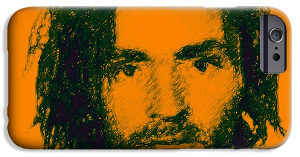 Alcatraz iPhone Cases - Mugshot Charles Manson p0 iPhone Case by Wingsdomain Art and Photography