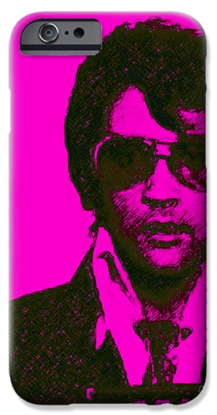 Mugshot Elvis Presley m80 iPhone Case by Wingsdomain Art and Photography