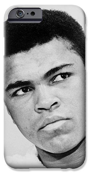 Muhammad Ali 1967 iPhone Case by Mountain Dreams