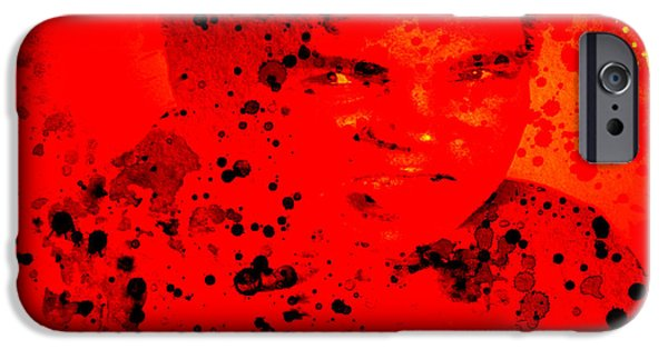 Olympic Gold Medalist iPhone Cases - Muhammad Ali iPhone Case by Brian Reaves