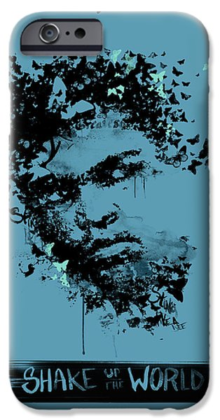 Well-known iPhone Cases - Muhammad Ali iPhone Case by Pop Culture Prophet