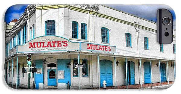 Louisiana Photographs iPhone Cases - Mulates New Orleans iPhone Case by Olivier Le Queinec