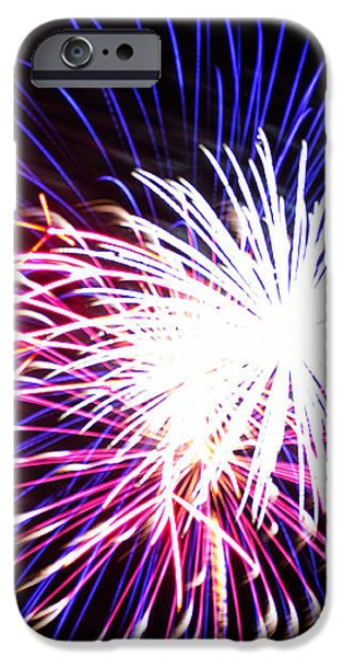 4th of July Fireworks 15  iPhone Case by Howard Tenke