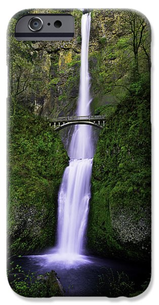 Hiking iPhone Cases - Multnomah Dream iPhone Case by Chad Dutson