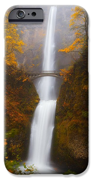 Darren iPhone Cases - Multnomah Morning iPhone Case by Darren  White