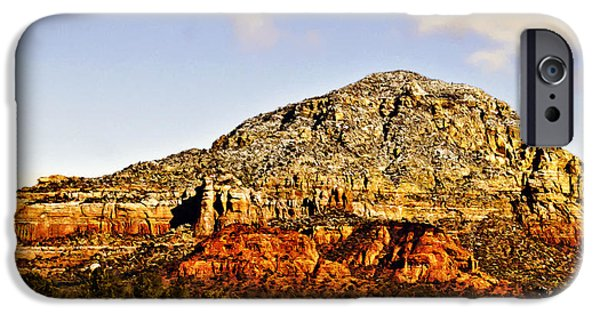 Oak Creek Digital iPhone Cases - Munds Mountain Sedona iPhone Case by  Bob and Nadine Johnston