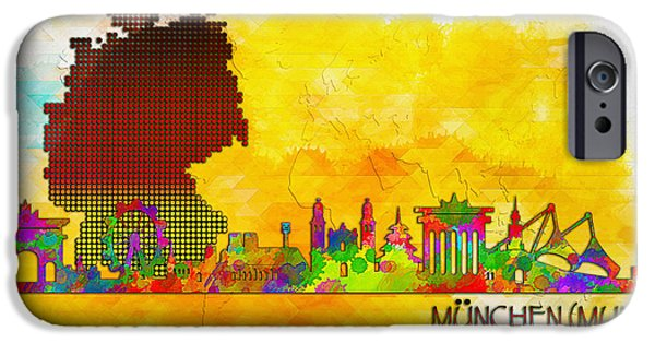 Rust iPhone Cases - Munich iPhone Case by Don Kuing