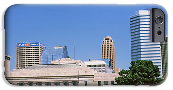 Municipal iPhone Cases - Municipal Building In The Downtown iPhone Case by Panoramic Images