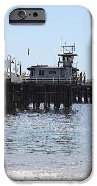 Municipal Wharf At The Santa Cruz Beach Boardwalk California 5D23767 iPhone Case by Wingsdomain Art and Photography
