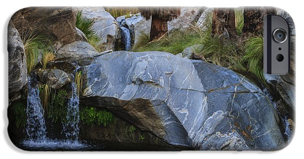 Water iPhone Cases - Murray Canyon Falls iPhone Case by Scott Campbell