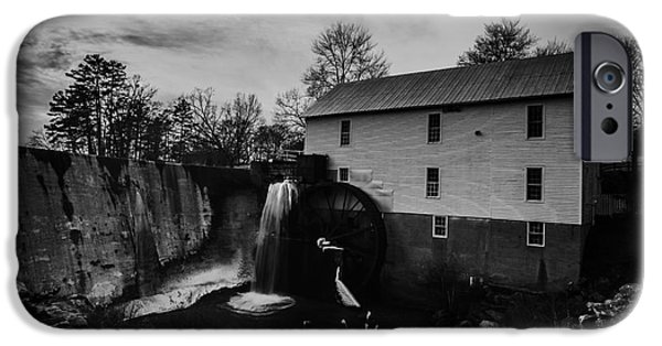 Grist Mill iPhone Cases - Murray Mill iPhone Case by William Bentley