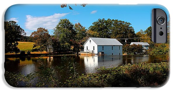 Grist Mill iPhone Cases - Murry mill iPhone Case by William Bentley