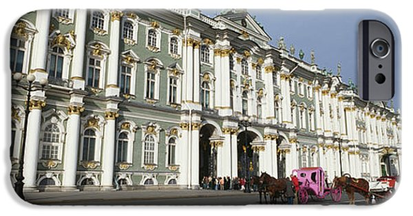 National Building Museum iPhone Cases - Museum Along A Road, State Hermitage iPhone Case by Panoramic Images