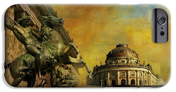 Museum iPhone Cases - Museum Island iPhone Case by Catf