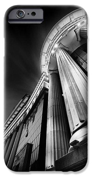 Buildings iPhone Cases - Museum iPhone Case by Ivan Vukelic