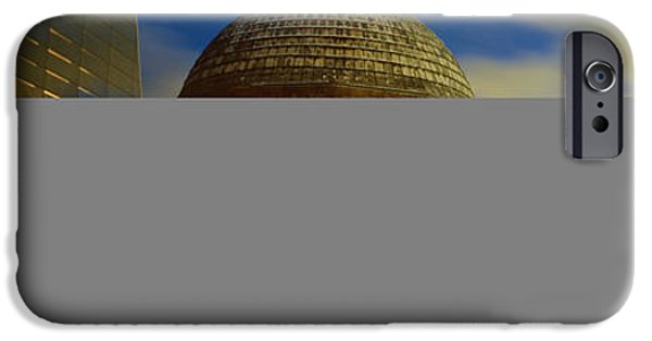 Technology iPhone Cases - Museum Lit Up At Dusk, Adler iPhone Case by Panoramic Images