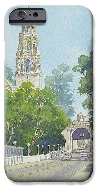 Museum iPhone Cases - Museum of Man Balboa Park iPhone Case by Mary Helmreich