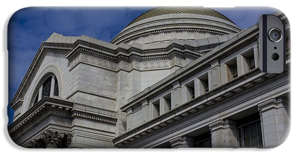 Smithsonian Museum iPhone Cases - Museum of Natural History iPhone Case by Andrew Pacheco