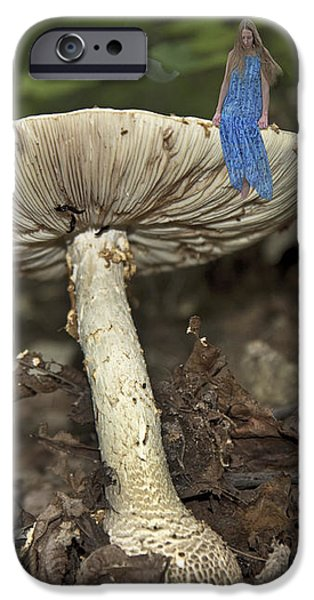 Mushroom iPhone Case by Betsy A  Cutler