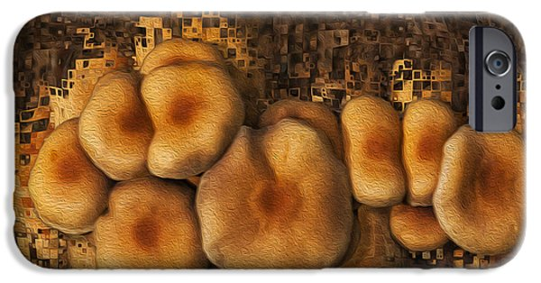Electronic iPhone Cases - Mushroom Cluster iPhone Case by Jack Zulli