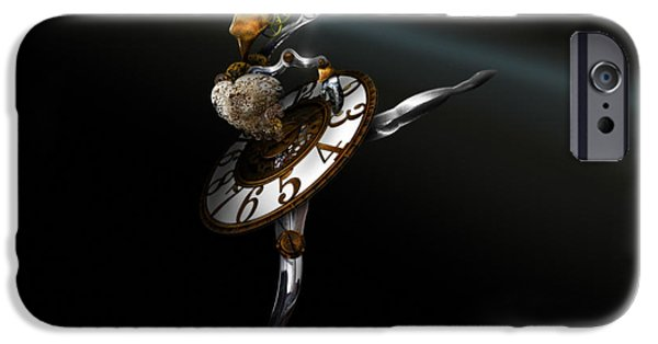 Ballet Dancers iPhone Cases - Music Box - The Dance of Hours iPhone Case by Alessandro Della Pietra