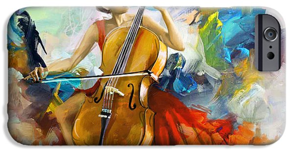 Hip-hop iPhone Cases - Music Colors and Beauty iPhone Case by Corporate Art Task Force