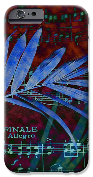 Piano iPhone Cases - Music In Colour iPhone Case by Rumyana Whitcher