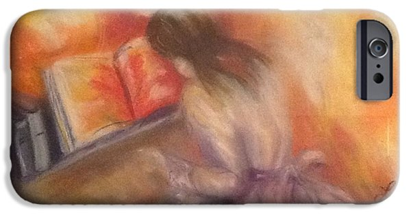 Piano Pastels iPhone Cases - Music iPhone Case by Luanne Rozran