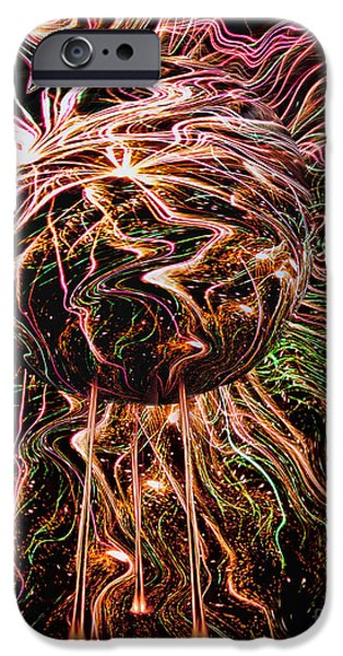 4th July Mixed Media iPhone Cases - Music of the Spheres iPhone Case by Jason Rizzo