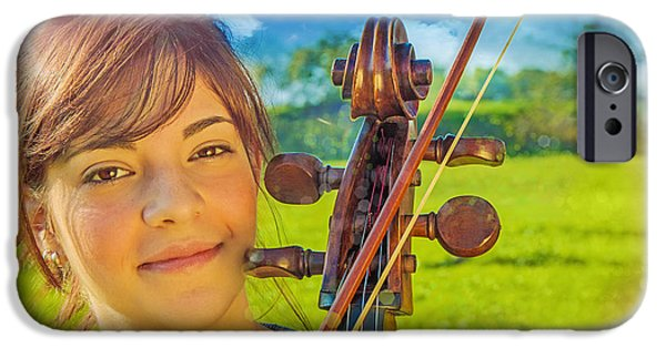Freedom iPhone Cases - Music of the sunshine 2 iPhone Case by Danilo Piccioni
