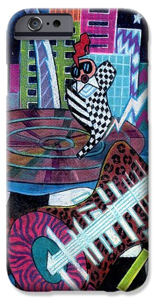 Stretched Canvas iPhone Cases - Music On The River STL Style iPhone Case by Genevieve Esson