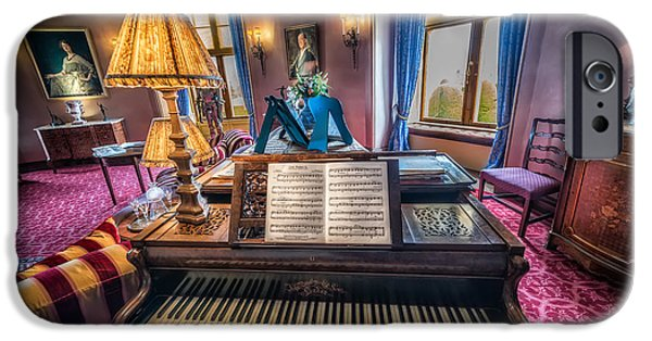 Sheets iPhone Cases - Music Room iPhone Case by Adrian Evans