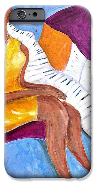Piano iPhone Cases - Musical dream iPhone Case by Manooch Vahdat