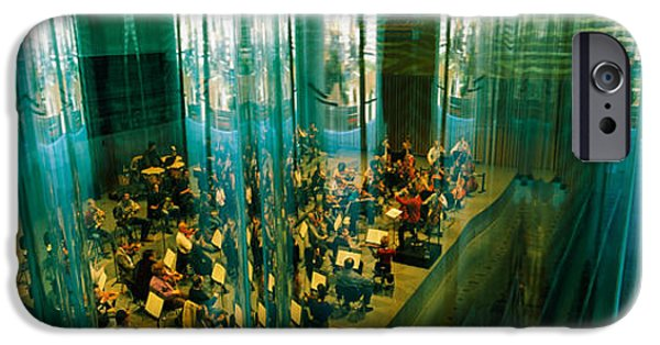 Playing Musical Instruments iPhone Cases - Musicians At A Concert Hall, Casa Da iPhone Case by Panoramic Images