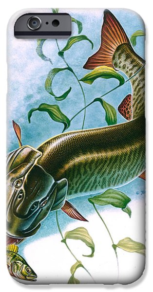 Musky Vignette iPhone Case by Jon Q Wright