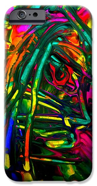 Vibrant Pastels iPhone Cases - Must Be Pmt iPhone Case by David Rogers