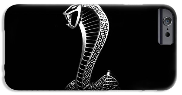 Etc. Photographs iPhone Cases - Mustang Cobra iPhone Case by George Kenhan