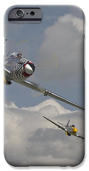 Mustang Pair iPhone Case by Pat Speirs