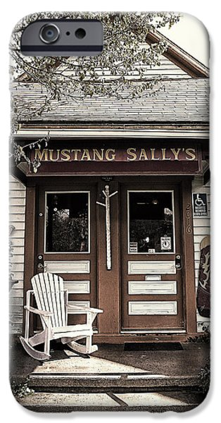 Overhang Digital iPhone Cases - Mustang Sallys iPhone Case by Ron Regalado