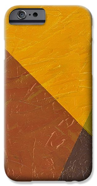Mustard and Pickle iPhone Case by Michelle Calkins