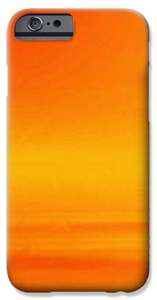 Mute Sunset iPhone Case by John Edwards
