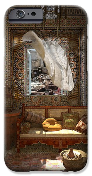 Recently Sold -  - Furniture iPhone Cases - My Art in the Interior Decoration - Morocco - Elena Yakubovich iPhone Case by Elena Yakubovich