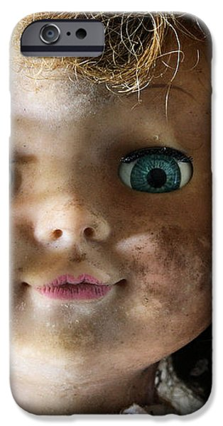 My Bedroom Eyes iPhone Case by JC Findley