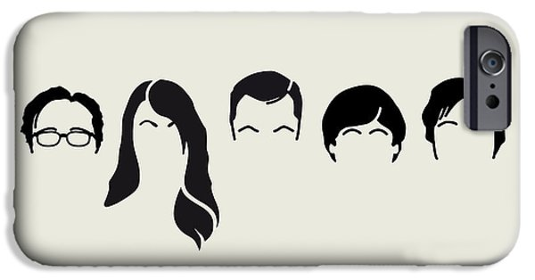 Con iPhone Cases - My-big-bang-hair-theory iPhone Case by Chungkong Art