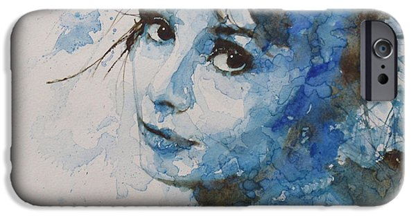 Portrait Poster iPhone Cases - My Fair Lady iPhone Case by Paul Lovering