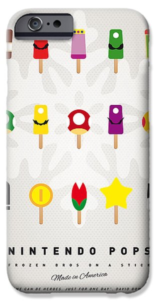 My MARIO ICE POP - UNIVERS iPhone Case by Chungkong Art