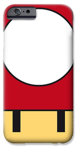 MY MARIOBROS FIG 05A MINIMAL POSTER iPhone Case by Chungkong Art