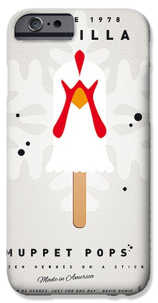 My MUPPET ICE POP - Camilla iPhone Case by Chungkong Art