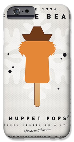 My MUPPET ICE POP - Fozzie Bear iPhone Case by Chungkong Art